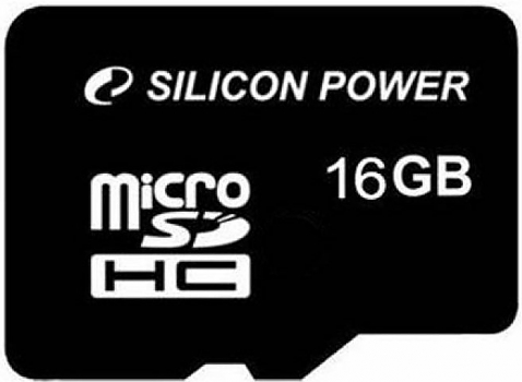 Флеш карта Silicon Power micro SDHC 16Gb class 10