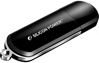 Флеш диск USB Silicon Power 8Gb Lux Mini 322 Black