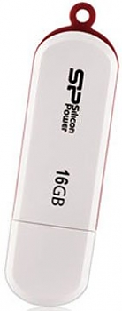 Флеш диск USB Silicon Power 16Gb Lux Mini 320 White