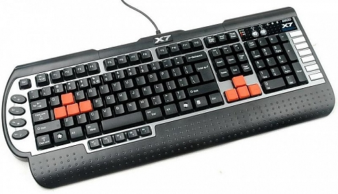 Клавиатура A4Tech G800V 3x Fast Gaming USB