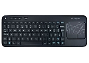 Клавиатура Logitech K400 black wireless tough