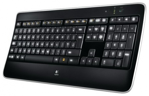 Клавиатура Logitech K800 wireless illuminated (920-002395)