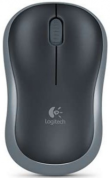 Мышь Logitech M185 dark grey wireless USB