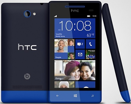 Смартфон HTC Windows Phone 8S blue T01151370