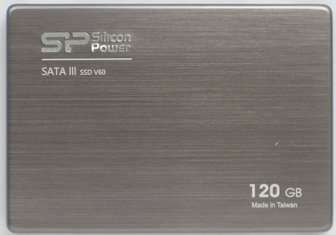 SSD диск Silicon Power V60 SATA III 120 GB  SF-2281 +3,5