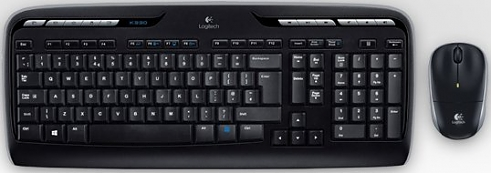 Комплект Logitech Wireless Desktop Combo MK330