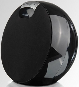 Компьютерные колонки Microlab MD312 (i-Moon) black (4 W RMS) bluetooth