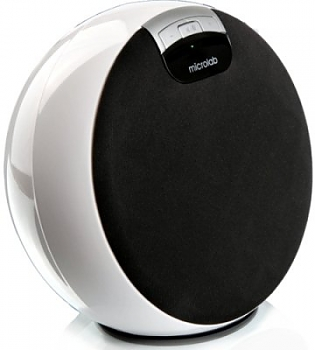 Компьютерные колонки Microlab MD312 (i-Moon) white (4 W RMS) bluetooth