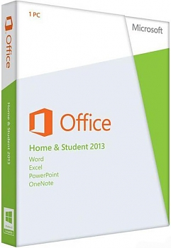 Программное обеспечение Microsoft Office Home and Student 2013 DVD
