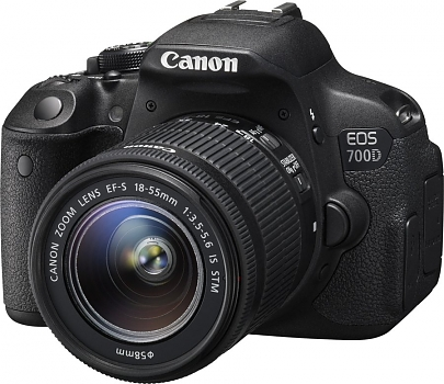 Фотоаппарат зеркальный Canon EOS-700D Kit 18-55 IS STM