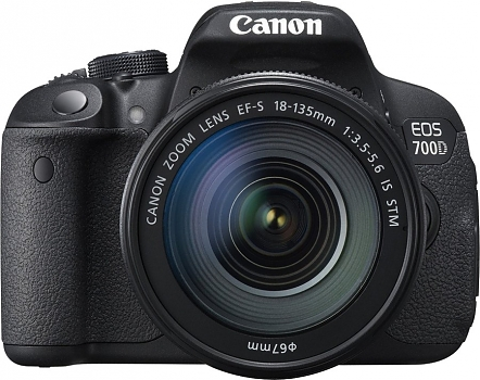 Фотоаппарат зеркальный Canon EOS-700D Kit 18-135 IS STM