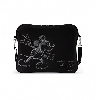 Сумка для ноутбука Cirkuit Planet DSY LB3014 LAPTOP BAG MICKEY silver 15''