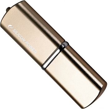 Флеш диск USB Silicon Power Lux Mini 720 Bronze 8 Gb