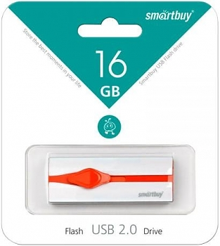 Флеш диск USB SmartBuy 16 Gb Comet black