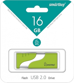 Флеш диск USB SmartBuy Hatch 16 Gb