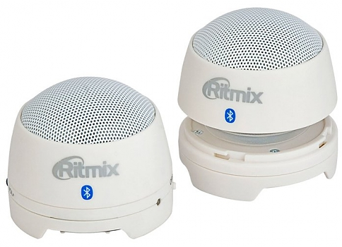 Компьютерные колонки Ritmix SP-2013BT white