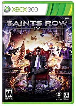 Игра для Xbox 360 Xbox Saints Row 4