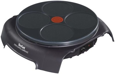 Блинница Tefal PY303633 Crep Party Compact черный