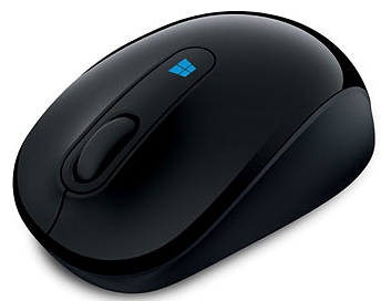 Мышь Microsoft Sculpt Mobile Mouse (43U-00004) черный