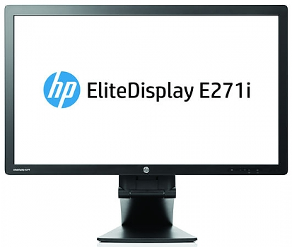 Монитор ЖК HP EliteDisplay E271i Black