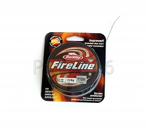 Леска BERKLEY FireLine Smoke 0.39 110м (New)