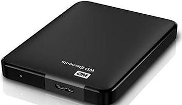 Внешний HDD WD Original USB 3.0 500Gb WDBUZG5000ABK-EESN Elements 2.5