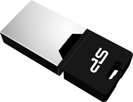 Флеш диск USB Silicon Power 8 Gb Silicon Power Mobile X20 Black Micro-USB/USB