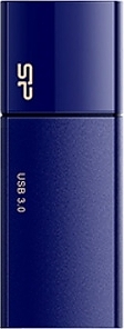 Флеш диск USB Silicon Power 32 Gb Silicon Power Blaze B05 Deep Blue USB 3.0