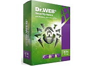 Программное обеспечение Dr.Web Security Space 1ПК/1гBHW-B-12M-1-A