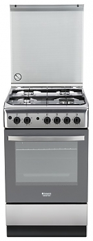 Плита газовая Hotpoint-Ariston H5GG1F (X) RU