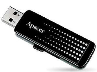 Флеш диск USB Apacer 16 Gb AH323 Black