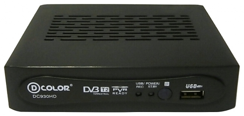 ТВ приставка D-Color DC930HD