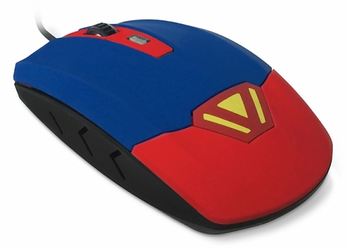 Мышь CBR CM833 Superman Usb