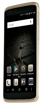 Смартфон ZTE AXON mini LTE gold