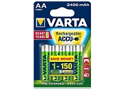 Аккумулятор Varta Ready2Use R6 / 2400mAh / BL4 56756.101.404