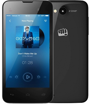 Смартфон Micromax BOLT D306 black