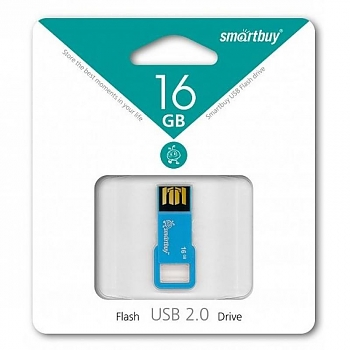 Флеш диск USB SmartBuy 16 Gb BIZ Blue