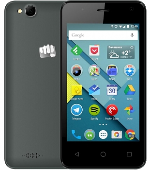 Смартфон Micromax Canvas Pace mini Q401 black