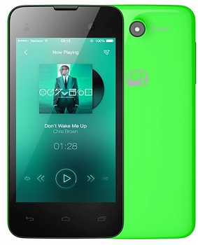 Смартфон Micromax BOLT D306 green