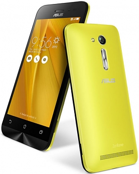 Смартфон Asus Zenfone Go ZB452KG 8Gb yellow DS