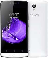 Смартфон Neffos C5L LTE white+power bank TL-PB2600
