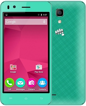 Смартфон Micromax BOLT Q424 green