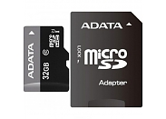 Флеш карта A-DATA micro SDHC 32Gb Premier Class 10