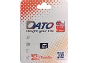 Флеш карта Dato micro SDHC 32Gb Class 10 DTTF032GUIC10