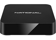 Медиаплеер National Смарт ТВ SBA-1200iWF Android TV Box, 1Gb/8Gb