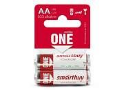 Батарейка SmartBuy ONE LR6 (AA) Shrink Card-2