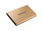 SSD диск Samsung T5 500GB gold